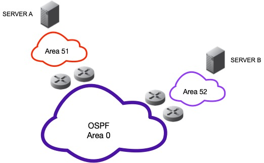 Anycast DNS OSPF Layout